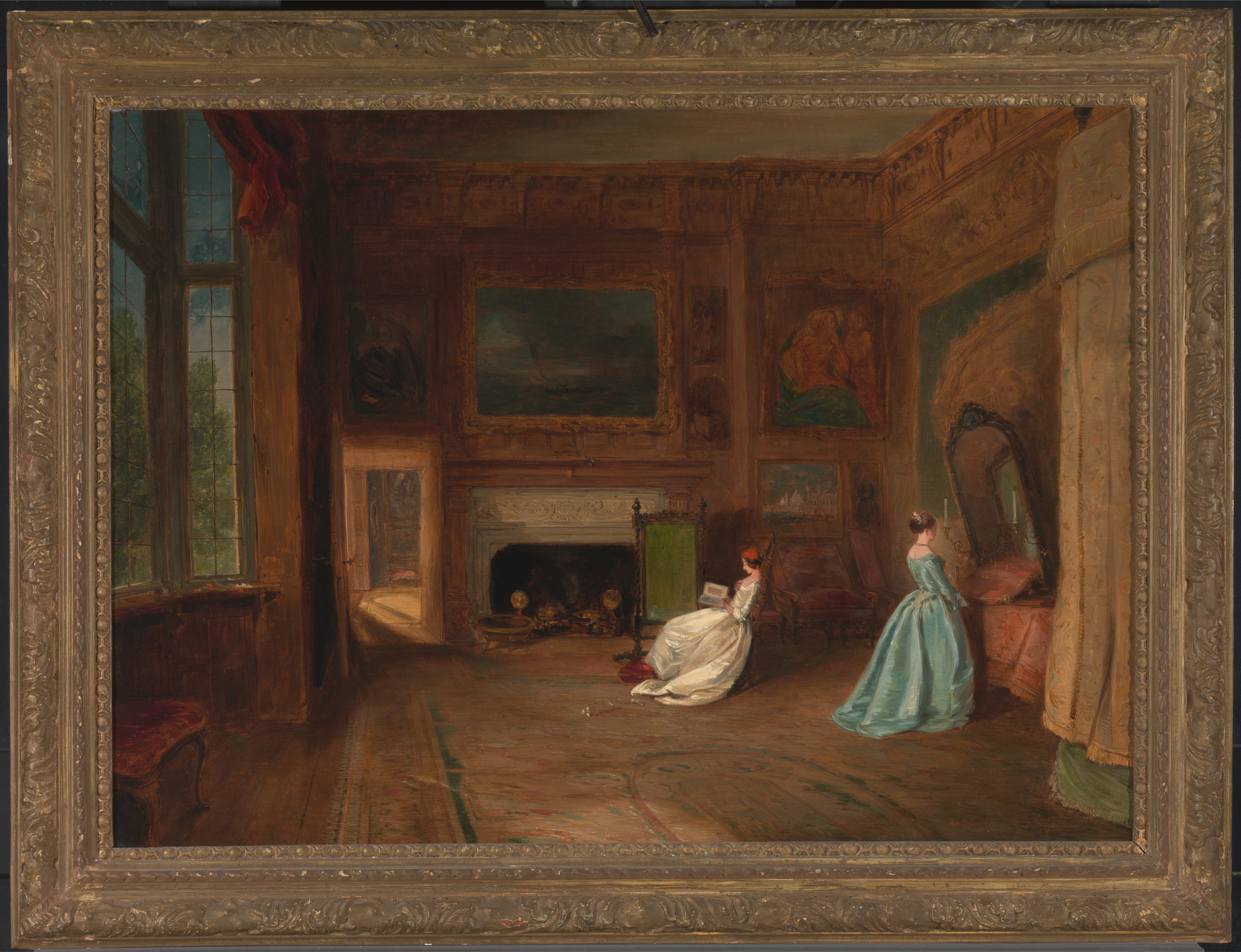 James Holland, The Lady Betty Germain Bedroom at Knole, Kent, 1845 (Yale Center for British Art)