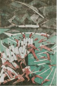 Claude Flight, Boys Bathing, 1935