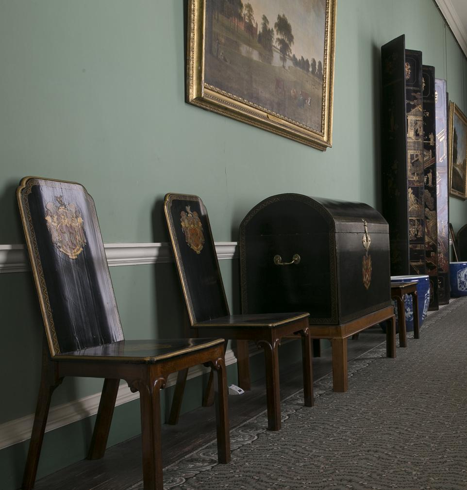 View of the Lacquer furniture at Osterley House. From the East India Company at Home case study of Osterley Park. Photo Courtesy: Stuart Howat