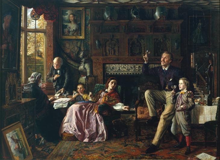 The Last Day in the Old Home 1862 Robert Braithwaite Martineau 1826-1869 Presented by E.H. Martineau 1896 http://www.tate.org.uk/art/work/N01500