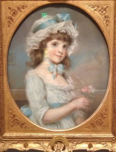 John Russell (British, 1745-1806), Mary Garnett, 1789, Pastel on paper. The Huntington Library, Art Collections, and Botanical Gardens, Adele S. Browning Memorial Collection, 78.20.37