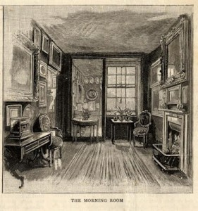 Mrs Soane's Morning Room, The Graphic, 1884.