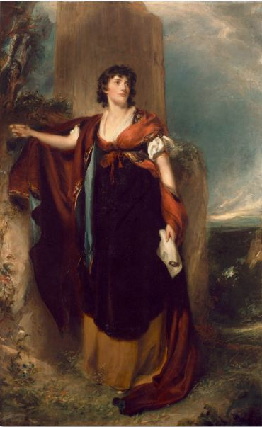 Thomas Lawrence, Portrait of Lady Elizabeth Foster, c. 1805, National Gallery of Ireland